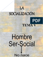 Tema v Socializacion