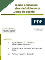 Hacia Una Educacion Inclusiva