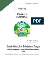 MEMORIA Módulo 4 Autonomías
