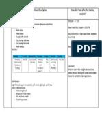training diary template