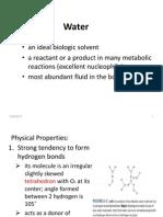 Water, PH; Electrolytes
