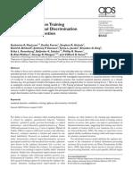 MacLean Et Al 2009 Psychological Science
