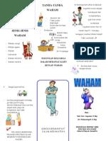 Leaflet Waham
