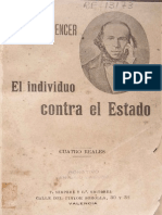 Spencer, Herbert El Individuo Contra El Estado (Completo)