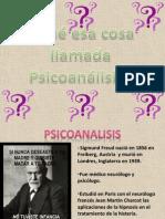 Psicoanalisis