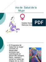 Programa Mujer