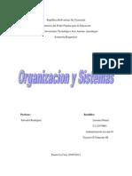 Ensayo de Organizacion y Sistemas
