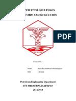 PAPER ENGLISH LESSON Aulia Rachmawati Febrianingtyas