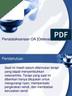 Penatalaksanaan OA [Osteoarthritis]