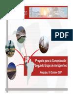 14 Proyectos de Infraestructura Aeroportuaria en La Macro Re