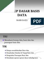 Bab 1 - Konsep Dasar Basis Data