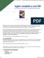 [TUTORIAL] Cambio de Región Completa a Una ISO (1 de 11) @ ElOtroLado