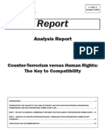 Counter-Terrorism Versus Human Rights