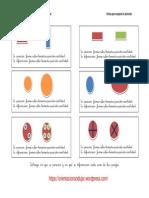 En Que Se Parecen y Diferencian Forma Color Tamano Posicion Cantidad 1