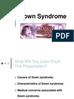 Kuliah Down Syndrome