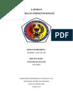 Laporan Pekerjaan Struktur Kolom