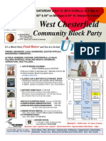 WCCA Community Union Block Party for July 19 2014