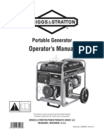 Briggs & Stratton Portable Generator Operating Manual