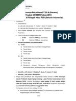 Pengumuman JF Makassar 2013 Fix