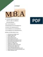 List of MBA Institutes in Aizawl