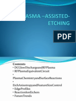 Plasma –Assisted Etching