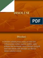 DISOLUSI