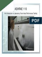 FumeHoodTesting-ASHRAE110