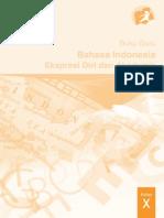 Buku Guru Bahasa Indonesia Kelas X