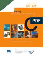 VCE Chemistry Study Design 2013-2016