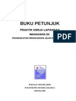 Buku Petunjuk Pkl d4 Tol