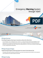 Emergency Warning System_VSAT