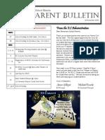 ES Parent Bulletin Vol#7 2009 Nov 26