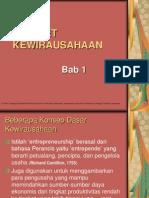 Bab 1 - Mindset Kewirausahaan