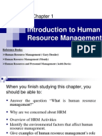 01. Introduction to Human Resource Management.