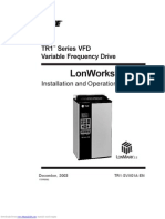 Lonworks Tr1 Series Vfd