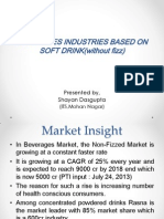 Insight on Beverages Industry