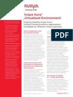 Avaya Aura Virtualized Environment