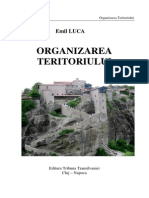 Organizarea Teritoriului Curs 2013