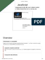 JavaScript · Bootstrap