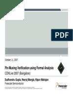 Tp Fvld Ver Formal Analysis CDNLiveIndia07