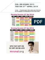 GK SSC-CGL-2013-Re-exam 27 April 2014 Mrunal (1)