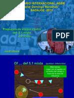 Jordi Ribera. Táctica Ofensiva Contra Defensa Mixta 5-1 y 4-2