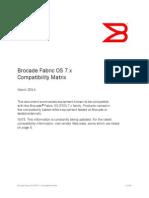 Brocade Compatibility Matrix Fos 7x Mx