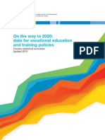 2014 on the Way to 2020 - Data for Vocational Education and Training Policies
