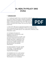 National Health Policy-2002