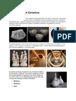Ceramics Report