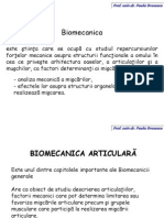1. Biomecanica Introducere Miscari