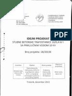 Projekat SBTS 10-0.4, 50kVA