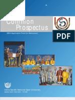 Ignou Prospectus 2008