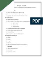 Financial Analysismodule
